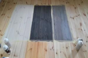 barwienie bejcowanie podłogi